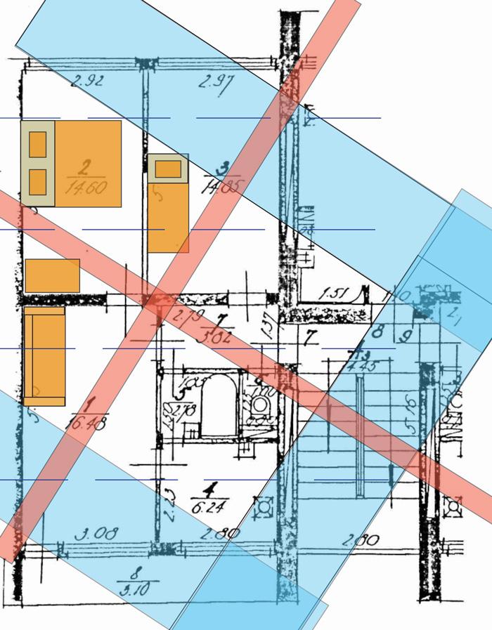 Āderu plāns dzīvoklim Jūrmalā