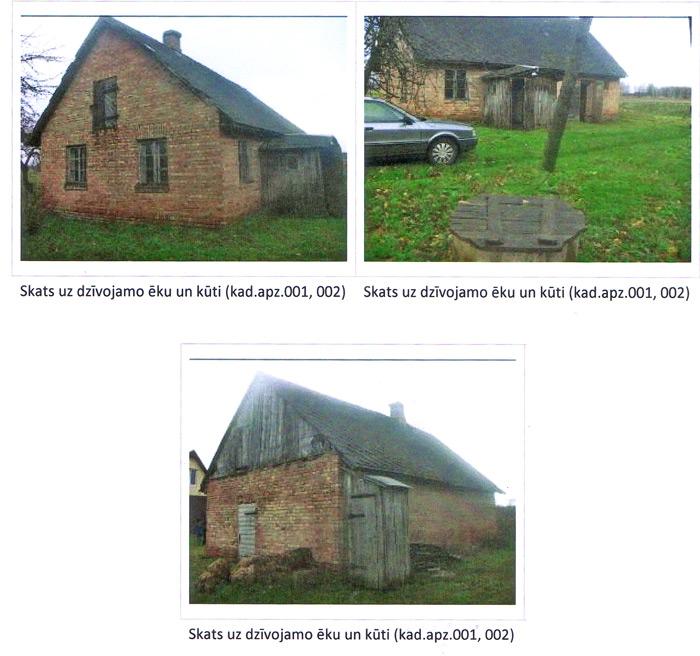 Ēkas rekonstrukcijas projekts - esošās ēkas foto