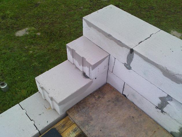 ekonomiska dzīvojamā māja projekts, būvniecības process