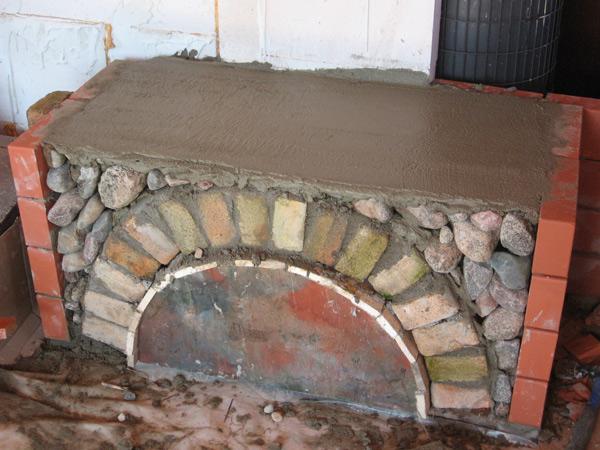 Kamīna projekts - ekonomiski risināts pašbūvēts kamīns