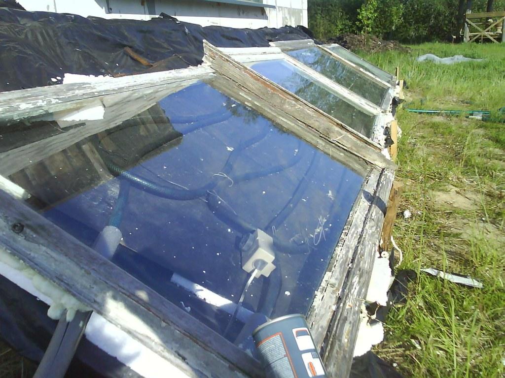 vienkāršais saules kolektors