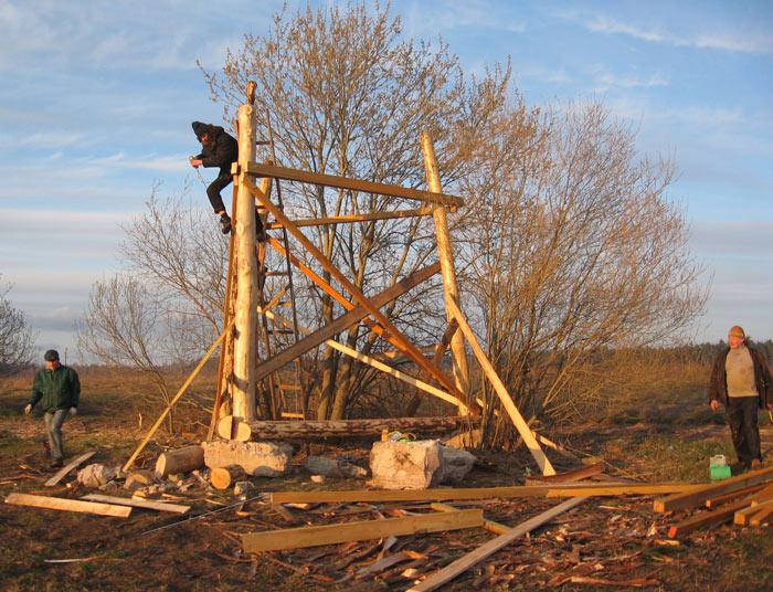 Torņa būvēšana