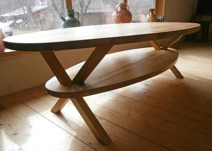 Pašrocīgi taisīts galds