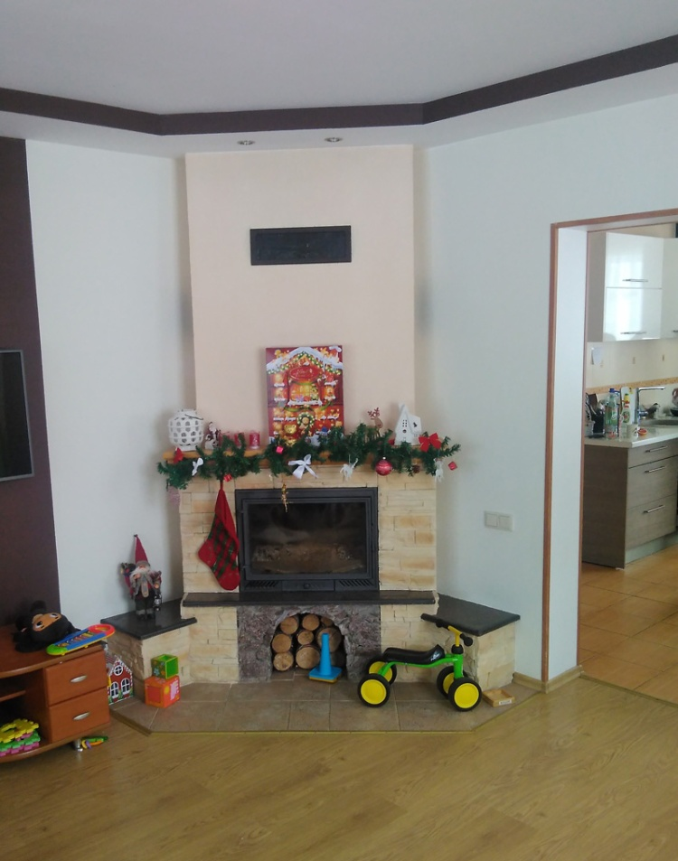 """Dzīvojamās mājas projekts """"Agris"""", uzbūvētās mājas attēli"""