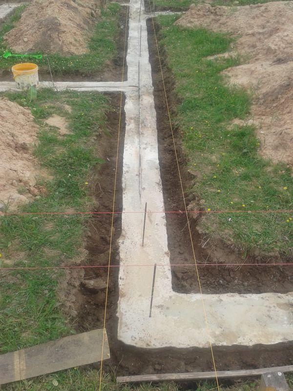 Pamatu būvēšana izmantojot zemes veidni