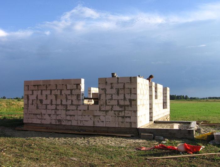 Gāzbetona sienas