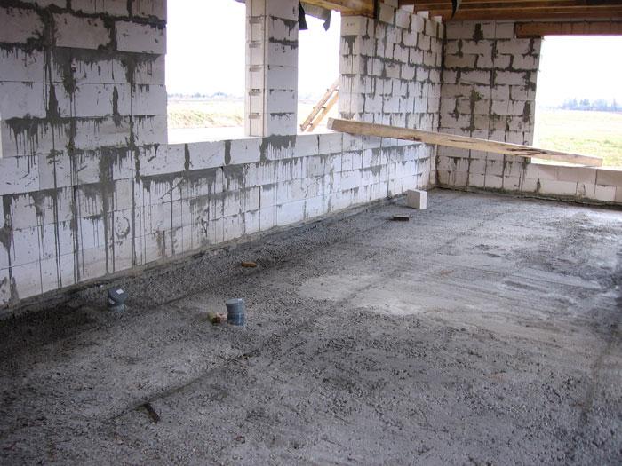 grīdas betonēšana