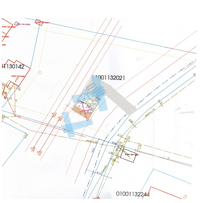 Āderu plāns zemes īpašumam Rīgā
