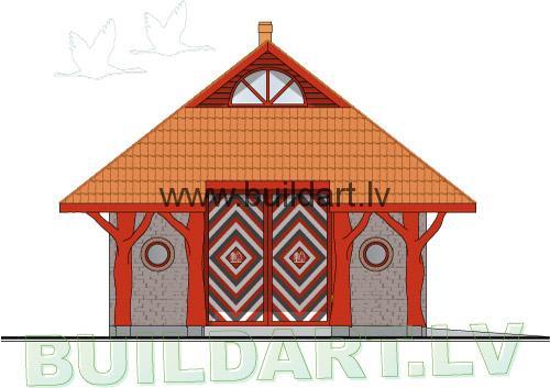Šķūņa projekts - saimniecībai un ballēm