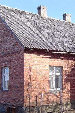 mājas rekonstrukcijas projekts, esošās ēkas fasāde