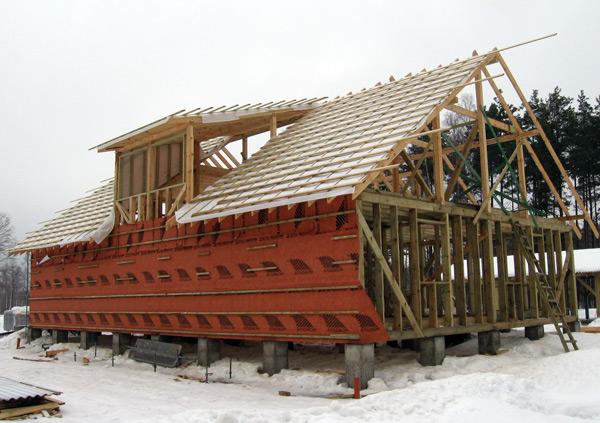 Saimniecības ēkas projekts, bildes