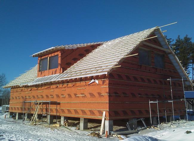 Saimniecības ēkas projekts