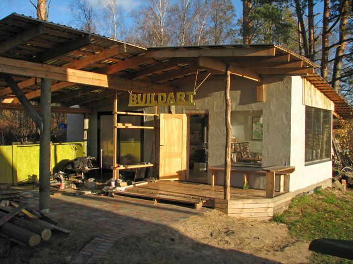 Darbnīcas projekts - uzbūvētās darbnīcas attēli