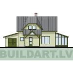 """Projekts """"Villa Agnese"""", dzīvojamās mājas projekts"""
