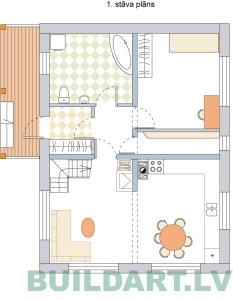 Projekta Aldis plānojuma versija