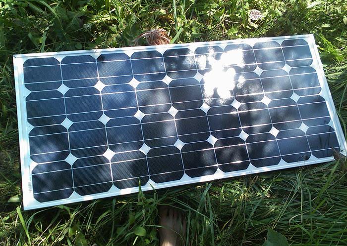 Labas un nedārgas saules baterijas