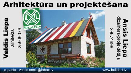 Arhitekts Valdis Liepa, māju projektēšana