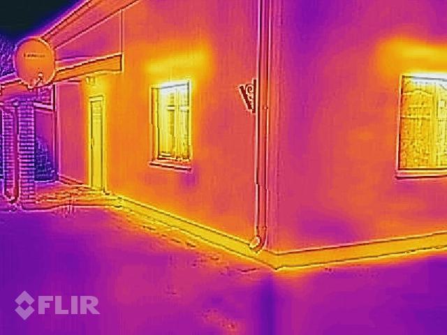 """Projekts """"Ansis"""" ēkas termogrāfija - aukstumtiltiņš - ailu pārsedzes"""