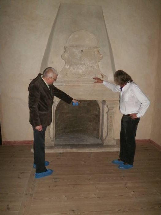 Bauskas pils interjera restaurācija