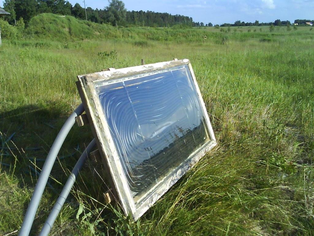 Paštaisīts saules kolektors