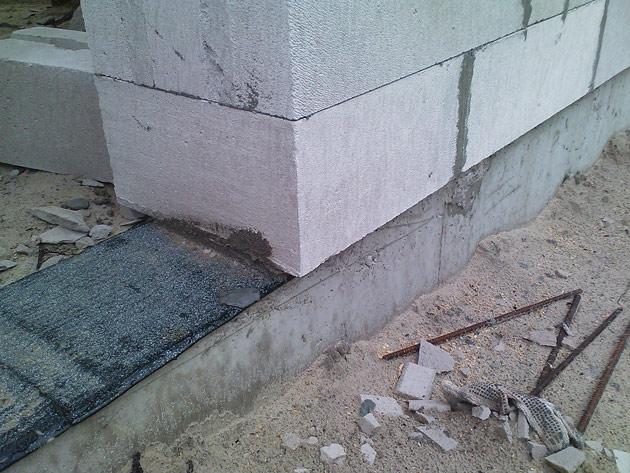Ekonomiskas mājiņas projekts, būvniecības process