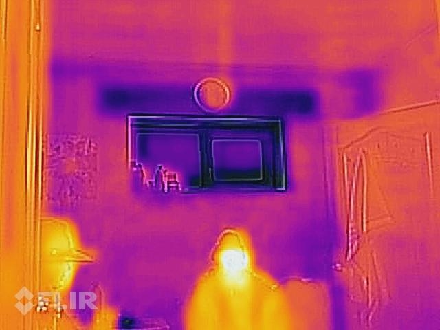"""Projekts """"Ansis"""" ēkas termogrāfija"""
