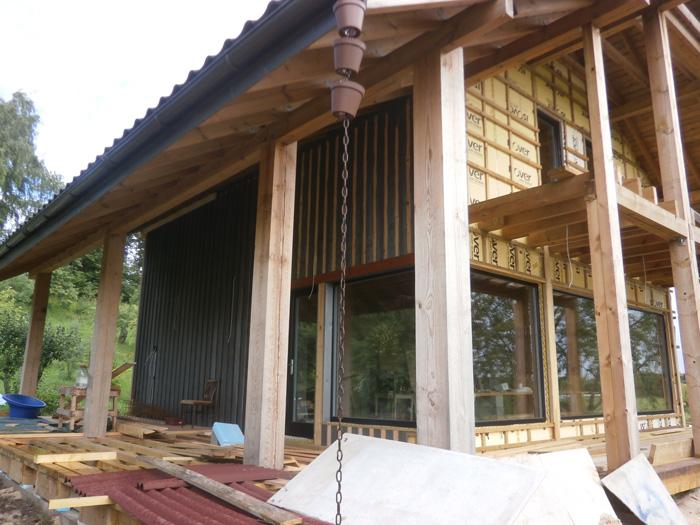 Pirts projekts - pirts draugiem un viesiem, būvniecības procesa bildes