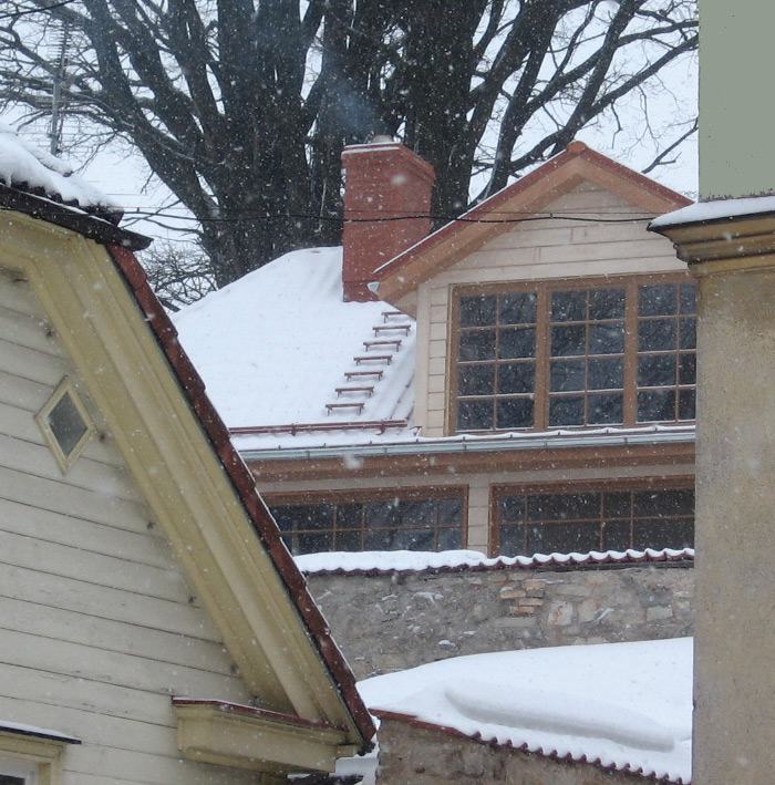 Rekonstrukcijas projekts, ēkas būvniecības procesa bildes