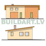 Saimniecības ēkas projekts, saimniecības ēka automehāniķim