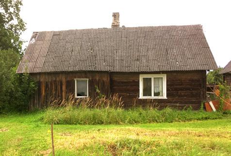 """Dzīvojamās mājas projekts """"Ilze"""" - senās ēkas bilde"""