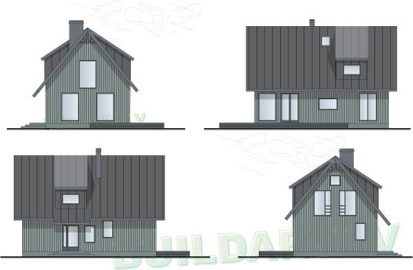 """Mājas projekts """"Smuidrā Elīna"""""""